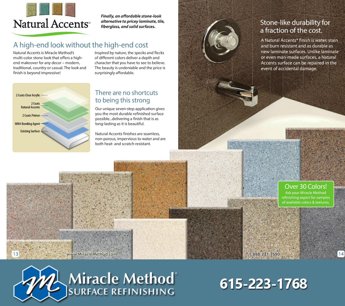 Natural Accent color Tahitian Sand | Miracle Method | Pinterest ...
