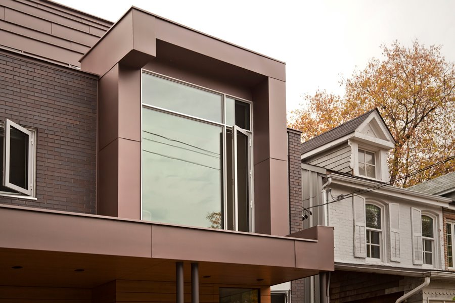 Vm Zinc Pigmento Red Residential Project In Canada